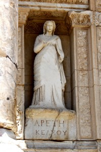 Arete – the Celsus Library, Ephesus – 2012
