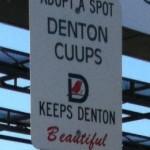 Denton CUUPS adopt a spot