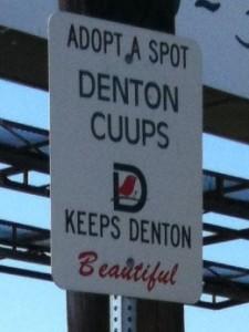 adopt a spot sign