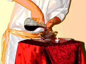 pouring offering high res