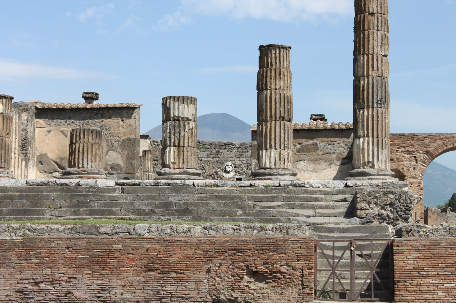 Temple of Jupiter - Pompeii