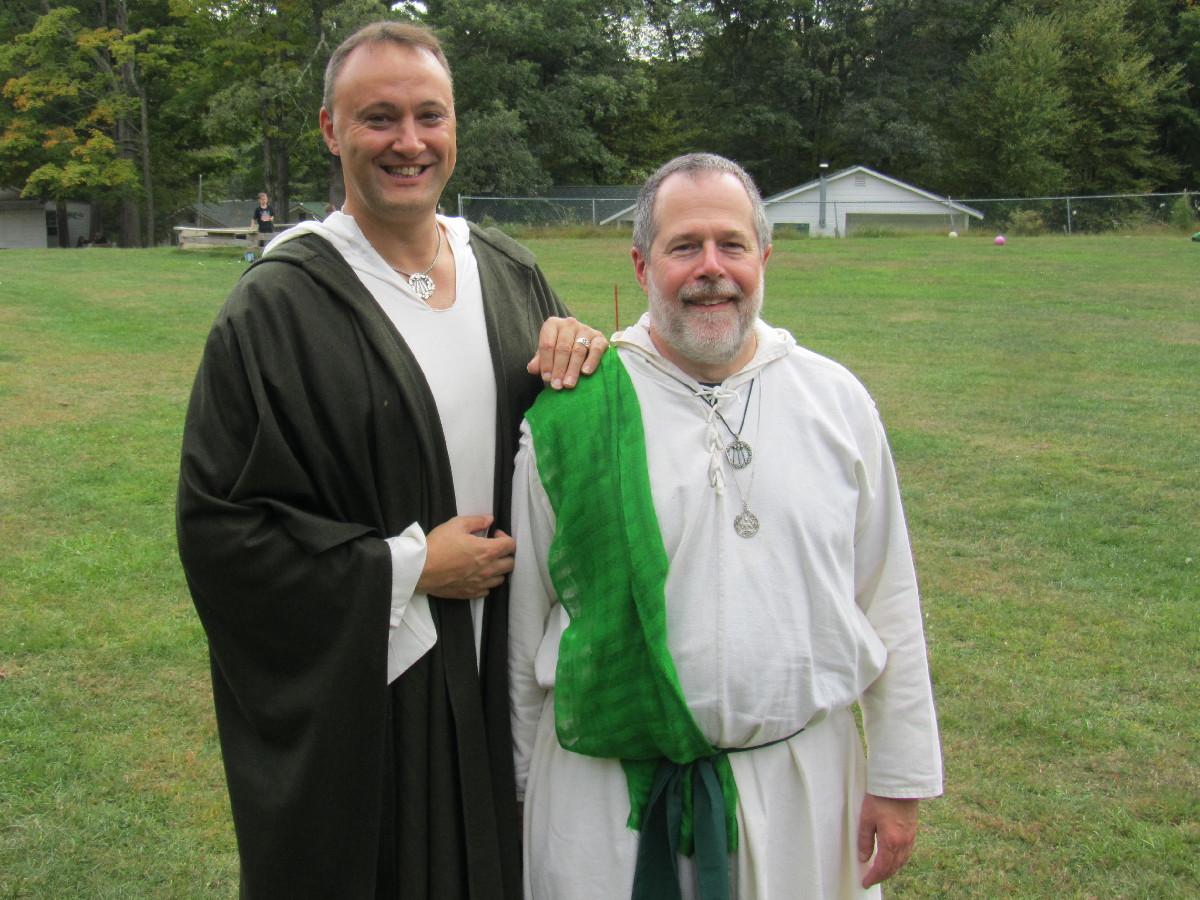 Kristoffer Hughes and John Beckett