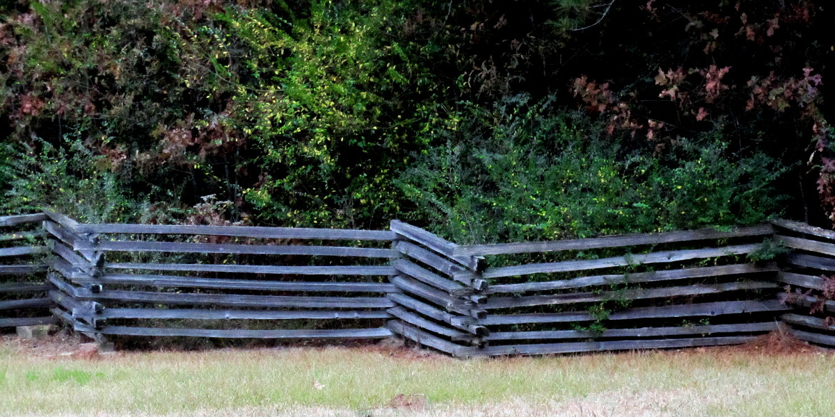 fence at Marksville Historical Site