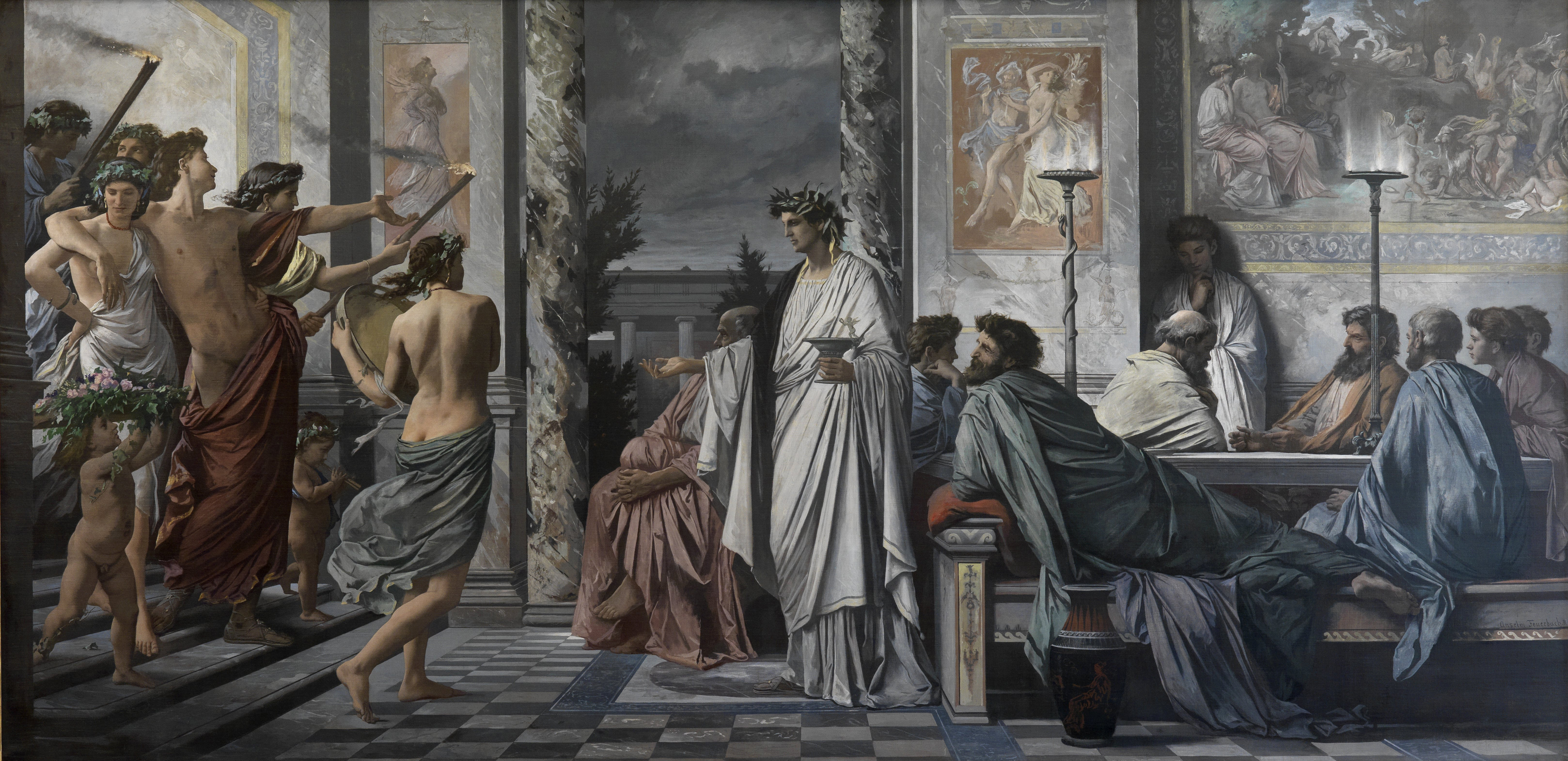 a discussion on socrates ideas about eros in the symposium and the phaedrus