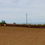 plowing on Anglesey - Spring 2014