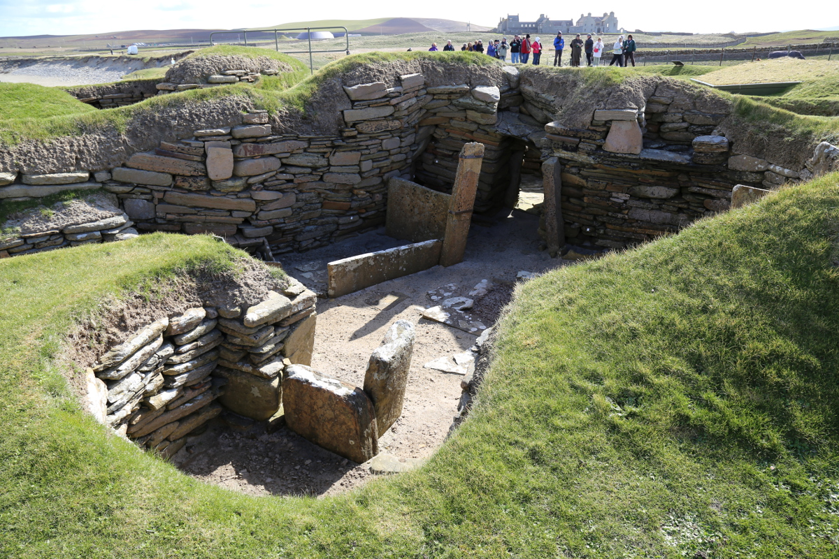 skara brae Did you know there are places in this world that you can visit that have been around for thousands of years there you can see how people lived.