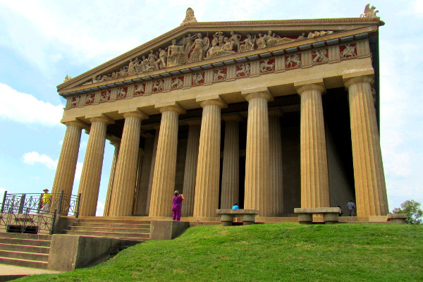 the Parthenon - Nashville