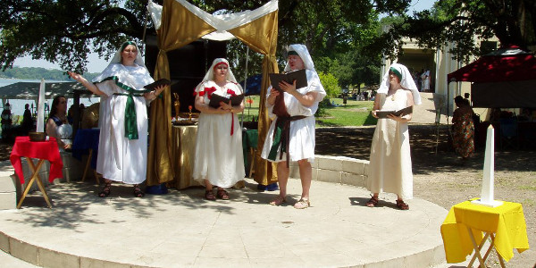 Egyptian Summer Solstice at White Rock Lake Park in Dallas - 2009