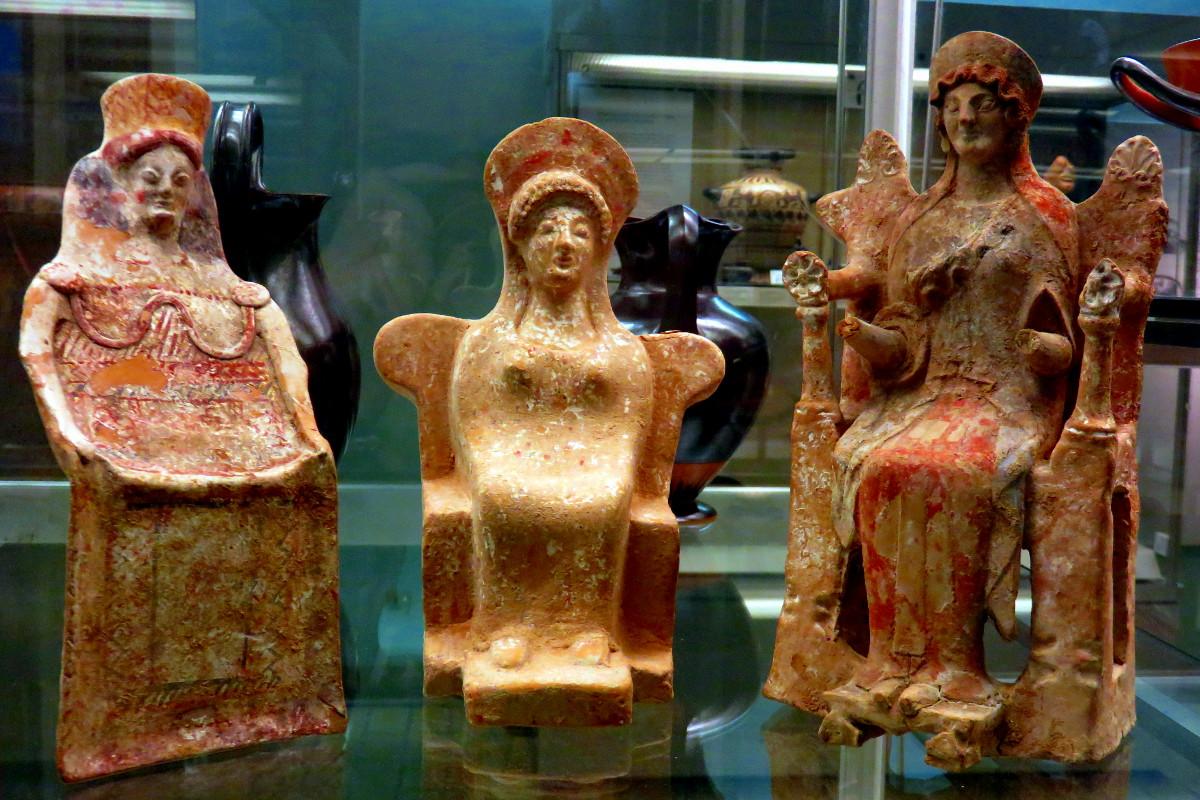 Goddesses - British Museum