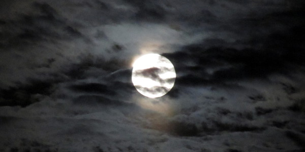 moon in clouds 03.19.11