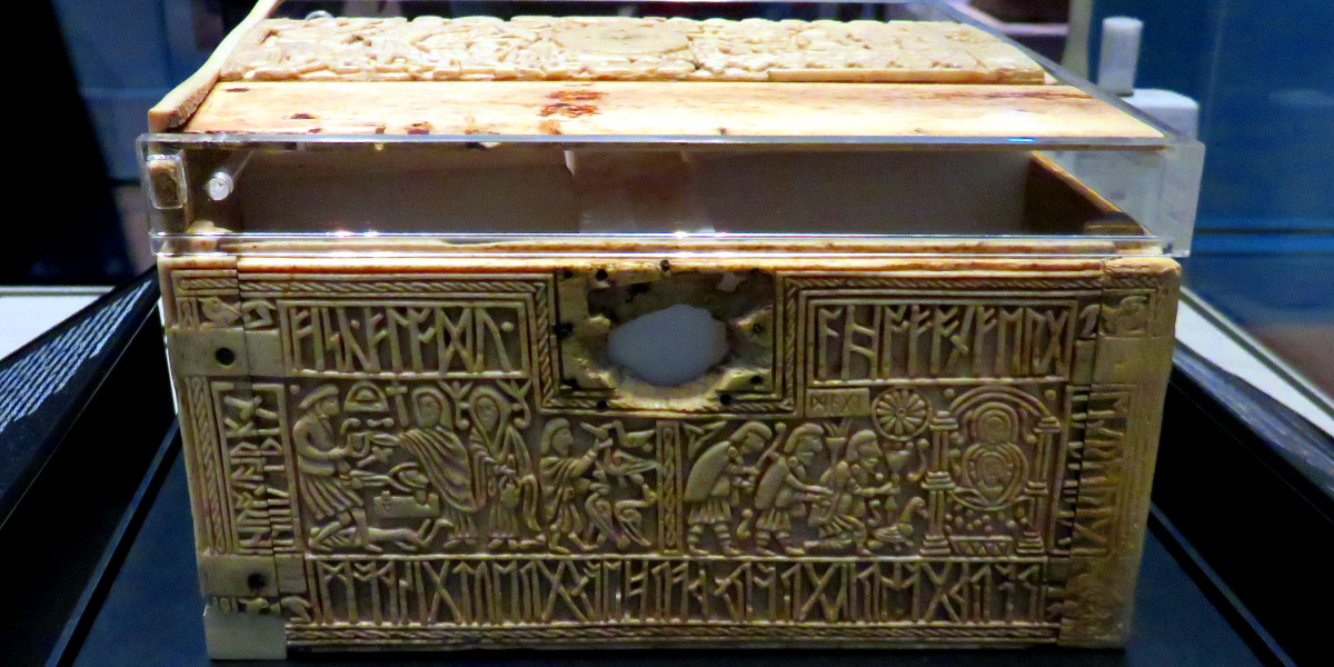 the Franks Casket British Museum 2016