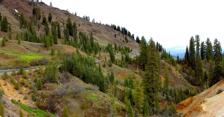 Lassen Peak road 2015