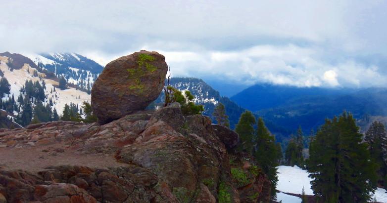 Lassen Peak rock 2015