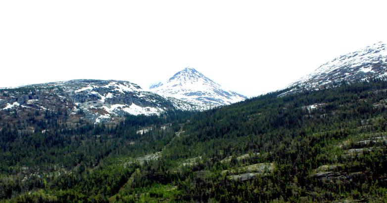 Alaska mountains 2011