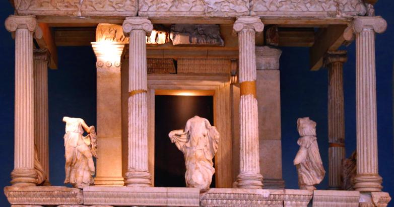 headless statues - Nereid Monument - British Museum