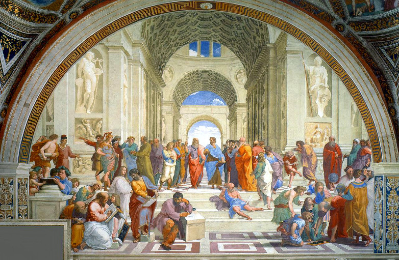 """School of Athens"" by Raphael - 1511. More than a pretty picture."