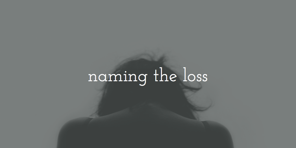 Naming the Loss