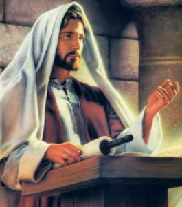 jesus-teaching-from-scroll-in-synagogue-picture