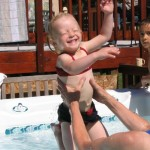 Karly. Swimming