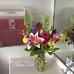Thank you Charlie and Ann for the beautiful flowers