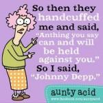 Granny. Depp