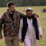 Marcus Luttrell, the Lone Survivor, and the Afghan man who helped save him.