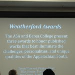 Weatherford Award for Fiction