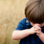 school child-praying
