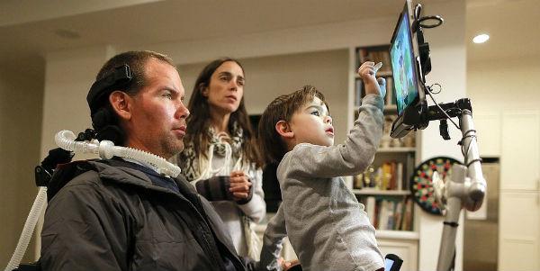 'Gleason' Documentary: Ex-NFL Saint Talks to Newborn Son Before ALS Takes His Voice