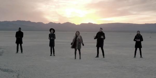 Pentatonix Sings 'Hallelujah' for Christmas (VIDEO)