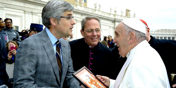 Pope hopes hardened hearts to become capable of forgiving, loving