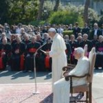 Two Popes, One Encyclical, All Eyes on Jesus — with His Eyes, in His Heart
