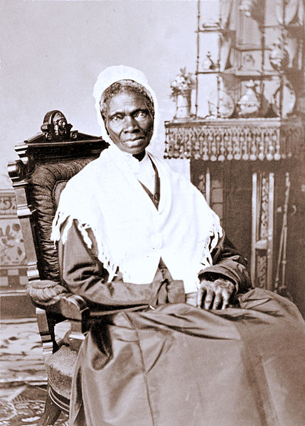 SOJOURNER TRUTH By Randall Studio (National Portrait Gallery, Smithsonian Institution) [Public domain], via Wikimedia Commons