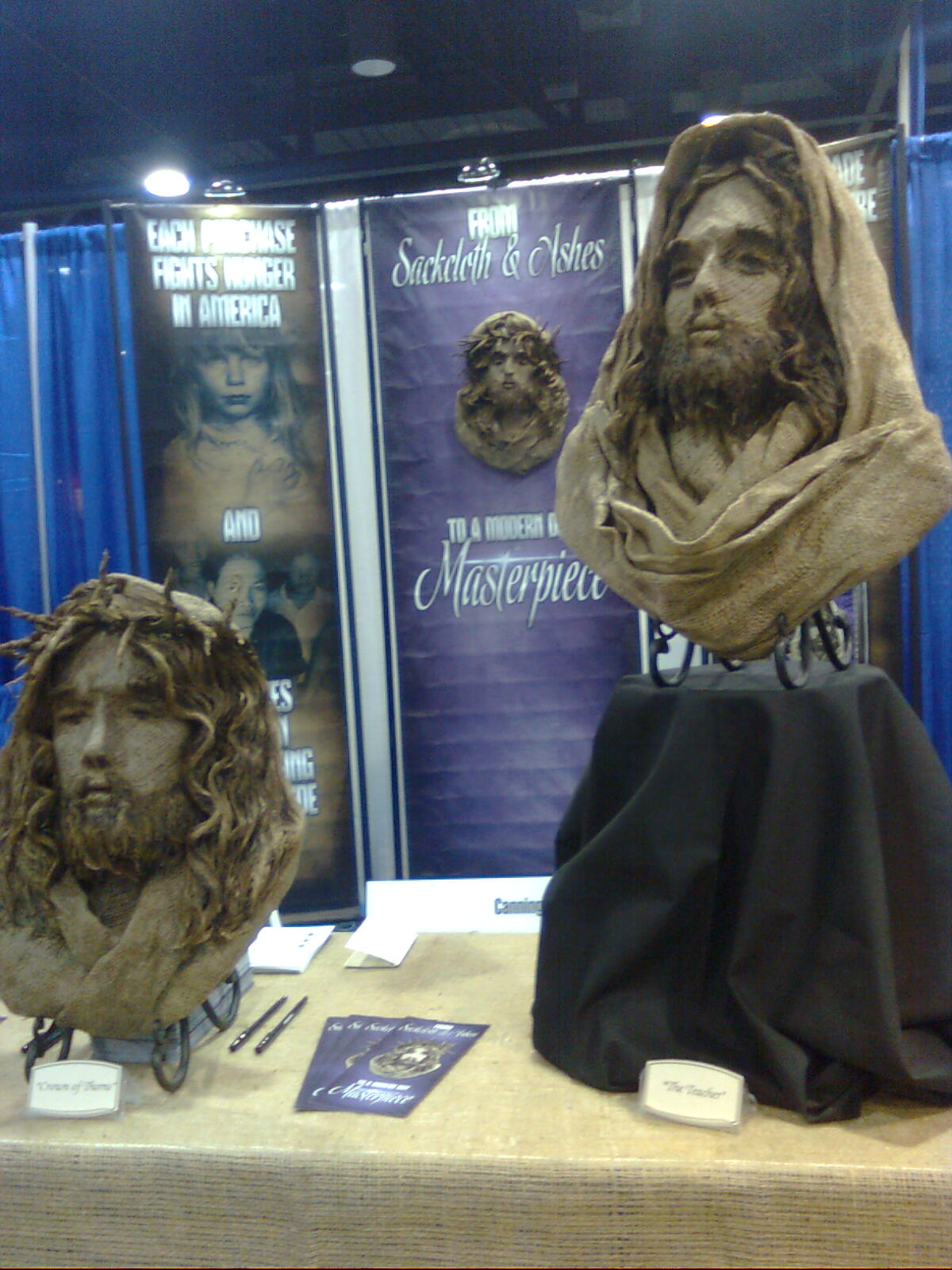 Sackcloth and Ashes: Burlap Sculptures Reflect Christ's ...