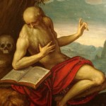 ST. JEROME by Palma Giovane [Public domain or Public domain], via Wikimedia Commons