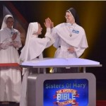Dominican Sisters high-five