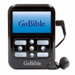 Scripture Study On The Run?  Go With the GoBible!