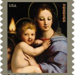 Madonna of the Candelabra stamp