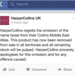 HarperCollins apology