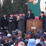 Groundhog Day 2005, taken by Aaron Silvers (Wikimedia Commons)