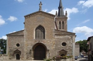 Neuville-les-Dames, where one of the tabernacles was stolen (Photo from diocesan website)