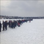 Michigan's Underwater Crucifix Draws Record Crowd for Annual Viewing