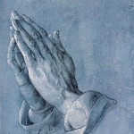 PRAYING HANDS (Betende Hände) by Albrecht Dürer.  Wikimedia Commons.  This photo is in the public domain.