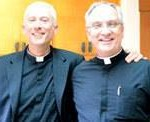 Fr. Joseph Illo and Fr. Patrick Driscoll, Star of the Sea Catholic Church (Photo from Facebook)