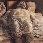 The Lamentation Over the Dead Christ by Mantegna