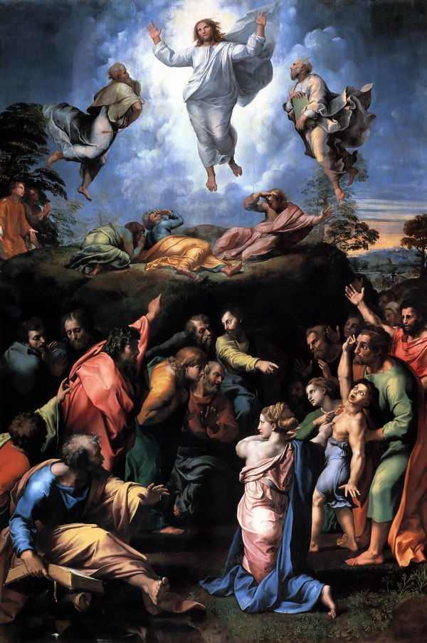 Transfiguration by Raphael (This work is in the public domain.)
