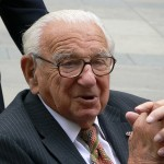 Hugs Up in Heaven, As Nicholas Winton Goes to His Reward
