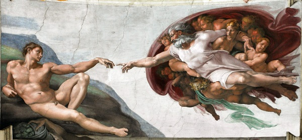 Michelangelo [Public domain], via Wikimedia Commons