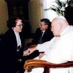 For His Feastday:  The Day I Met Pope John Paul II