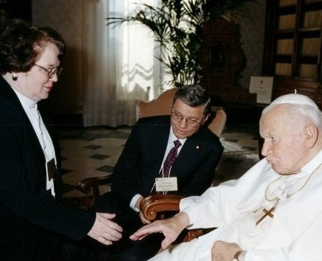 Vatican - Kathy Schiffer w JPII